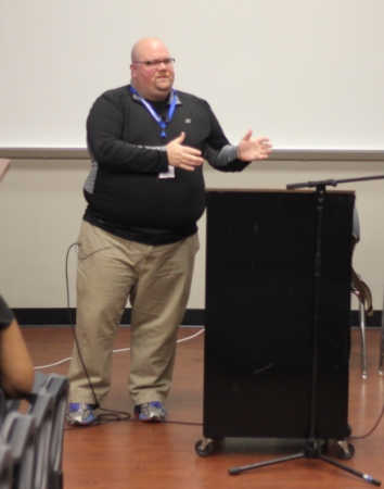 Jason Elkins speaks at Annual Conference